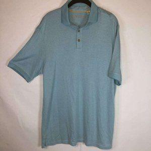 Caribbean Great Quality Men's Polo Shirt Blue